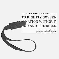 Washington_God-and-Bible-(white- Luggage Tag