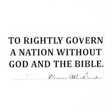 Washington_God-and-Bible-(w Aluminum License Plate