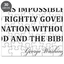 Washington_God-and-Bible-(white-shirt) Puzzle