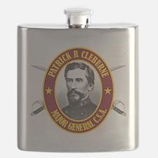 Cleburne (no flag) Flask