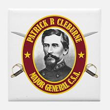 Cleburne (no flag) Tile Coaster