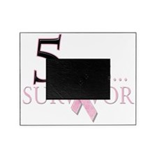 5 Years Breast Cancer Survivor Picture Frame