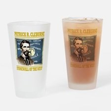 Cleburne -stonewall of the west Drinking Glass