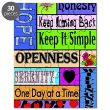 12 step sayings Puzzle
