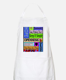 12 step sayings Apron