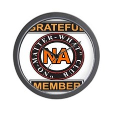 NA GRATEFUL MEMBER Wall Clock