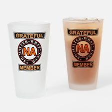 NA GRATEFUL MEMBER Drinking Glass