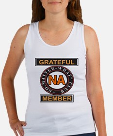 NA GRATEFUL MEMBER Women's Tank Top