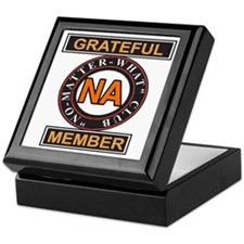 NA GRATEFUL MEMBER Keepsake Box