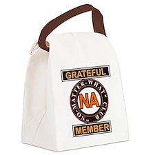 NA GRATEFUL MEMBER Canvas Lunch Bag