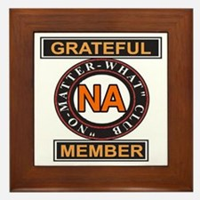 NA GRATEFUL MEMBER Framed Tile