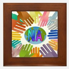 NA HANDS Framed Tile