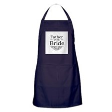 Father of the Bride black Apron (dark)