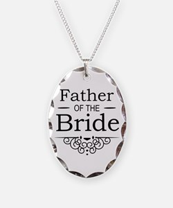 Father of the Bride black Necklace