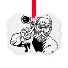 Paintball4 Ornament