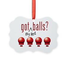 BigRedBalls_lite Ornament