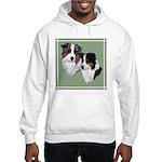 Australian Shepherd Twosome Hooded Sweatshirt