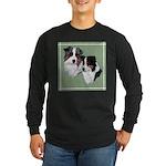 Australian Shepherd Twosome Long Sleeve Dark T-Shi