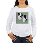 Australian Shepherd Twosome Women's Long Sleeve T-