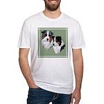 Australian Shepherd Twosome Fitted T-Shirt