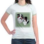 Australian Shepherd Twosome Jr. Ringer T-Shirt