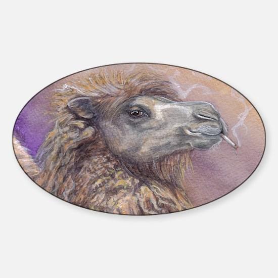 camel Sticker (Oval)