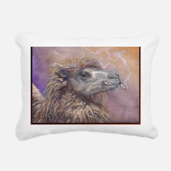 camel Rectangular Canvas Pillow
