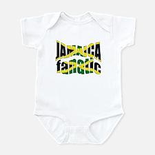 Jamaica sports fanatic Infant Bodysuit