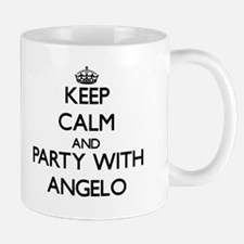 Keep Calm and Party with Angelo Mugs