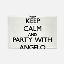 Keep Calm and Party with Angelo Magnets