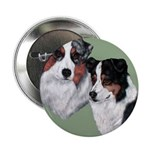 Australian Shepherd Twosome Button