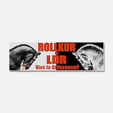 Rollkur-vs.-LDR-Bumper Sticker Car Magnet 10 x 3