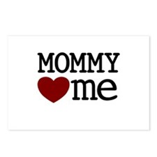 Mommy Hearts Me Postcards (Package of 8)