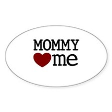 Mommy Hearts Me Decal