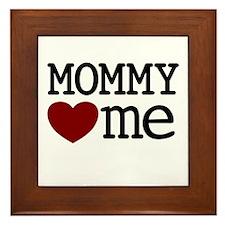 Mommy Hearts Me Framed Tile