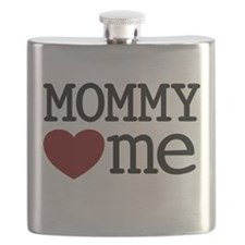 Mommy Hearts Me Flask