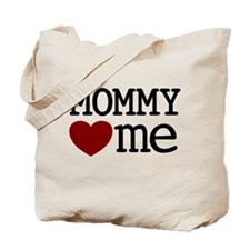 Mommy Hearts Me Tote Bag