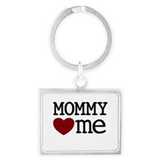 Mommy Hearts Me Landscape Keychain