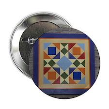 """Josephs Coat Quilt tile 2.25"""" Button"""