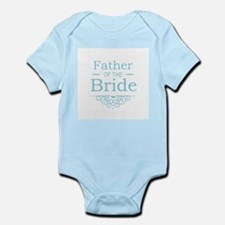 Father of the Bride blue Body Suit