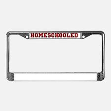 homeschooled03 License Plate Frame