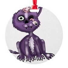 Zombie Cat 2a Ornament