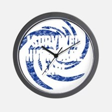 i-survived-hurricane-earl Wall Clock