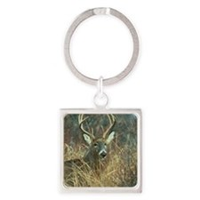 deer1001 Square Keychain