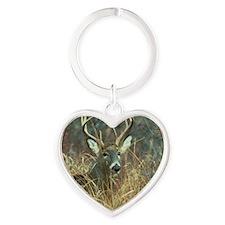 deer1001 Heart Keychain
