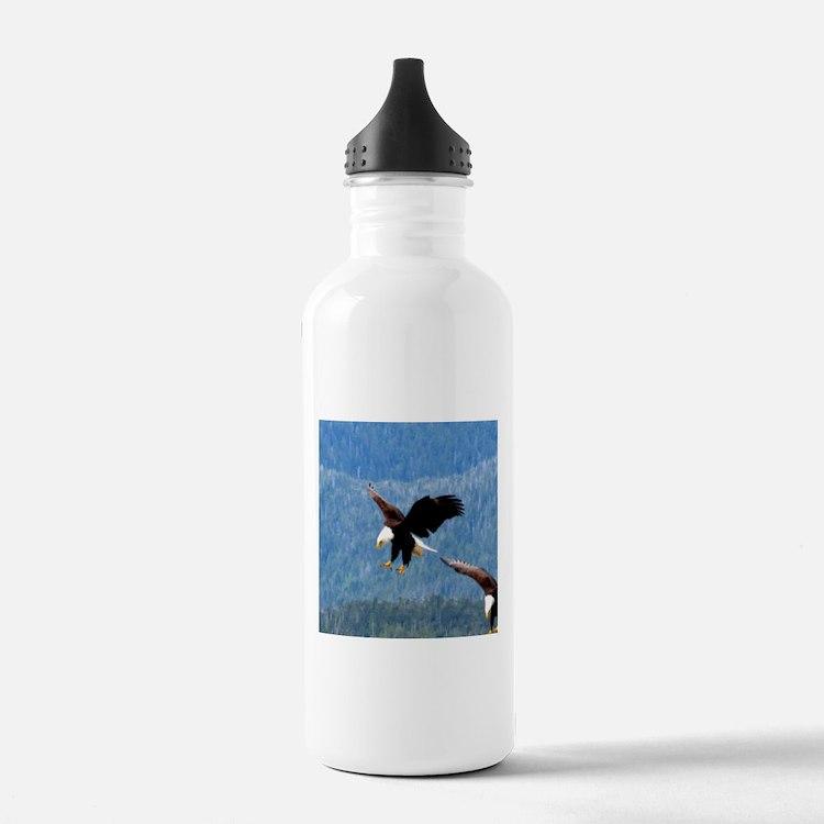 Solid landing Bald Eagle Water Bottle