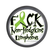 Fuck-NH-Lymphoma Wall Clock