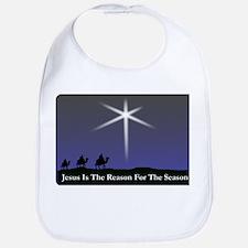 Jesus is the reason for the season Christmas Bib