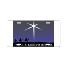 Jesus is the reason for the season Christmas Alumi
