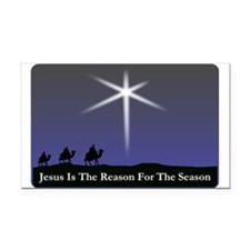 Jesus is the reason for the season Christmas Recta